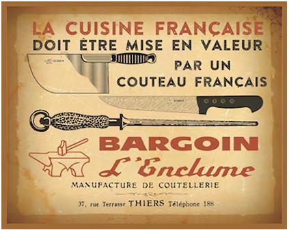 Affiche vintage Bargoin